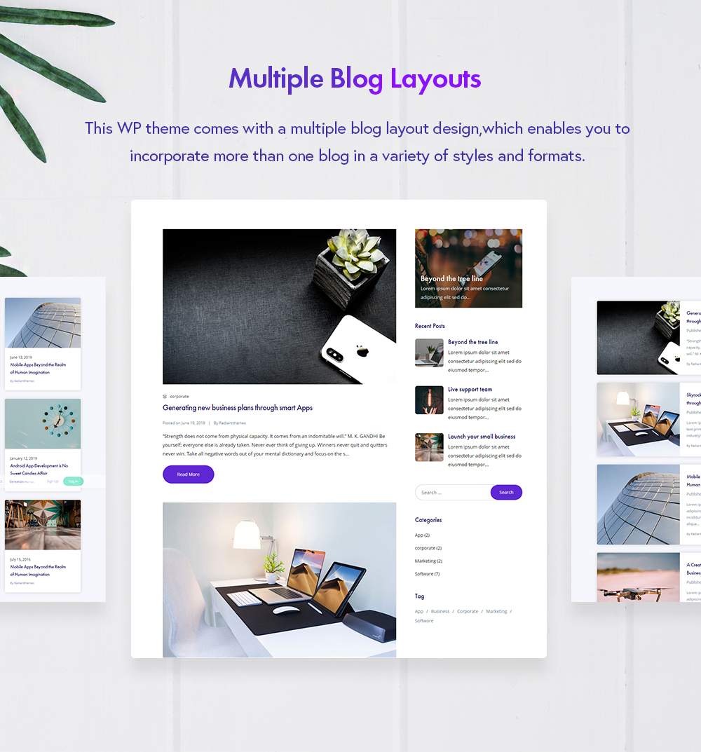 Applounge Presentation Blog Layouts